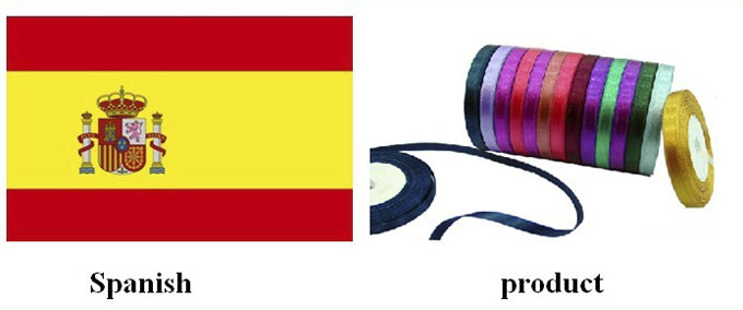 Spain| ribbon| satin ribbon| polyester ribbon| ribbon bow| yongjiaxin