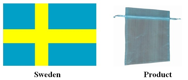 Sweden| organza pouches| pouch| bags| promotion items| yongjiaxin