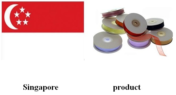 Singapore| organza| ribbon| bow| organza ribbon| yongjiaxin