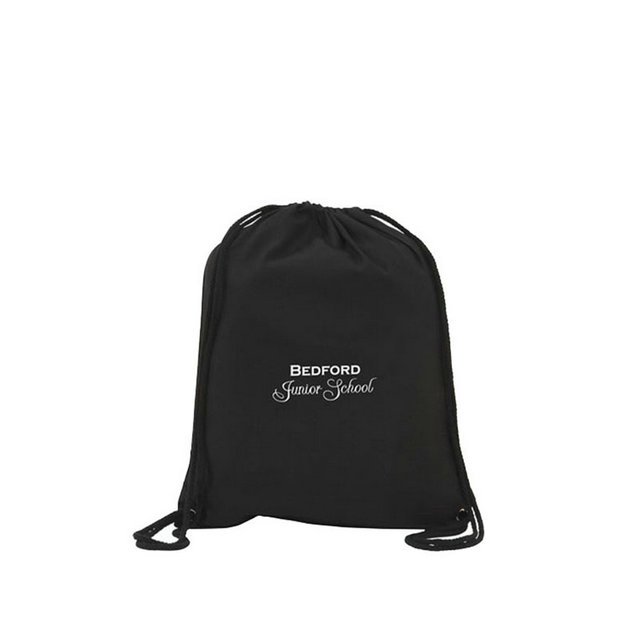 black cotton drawstring bags