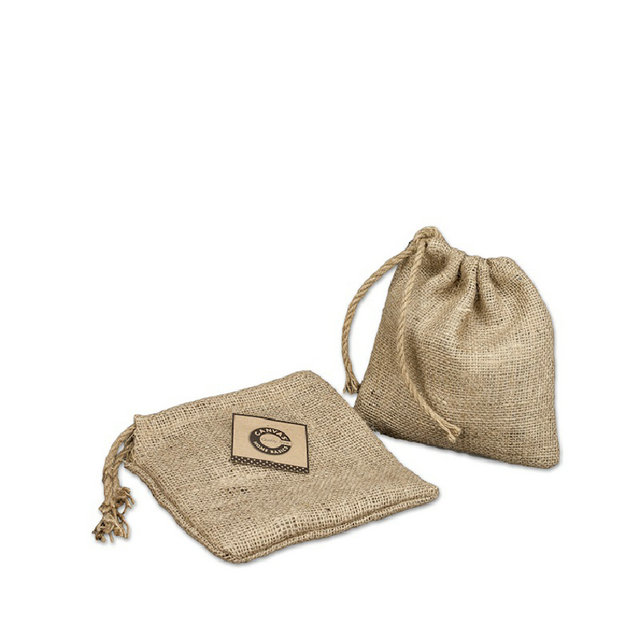 jute cosmetic bag supply