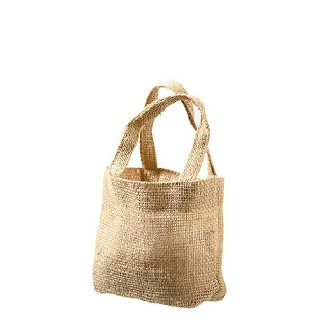 drawstring raw linen bag factor