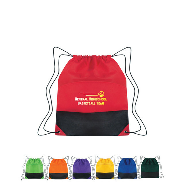 drawstring nylon bag