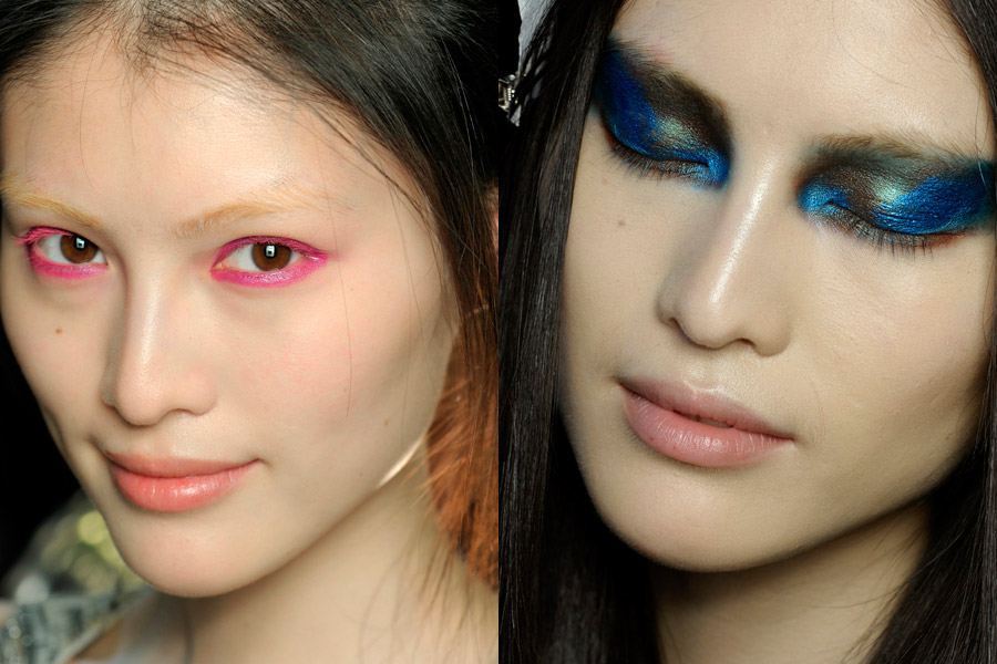 2018 Spring/Summer fashion trend: Bright-colored eyeshadow