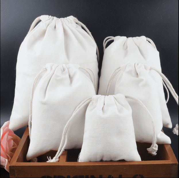 Eco friendly cotton bag for food