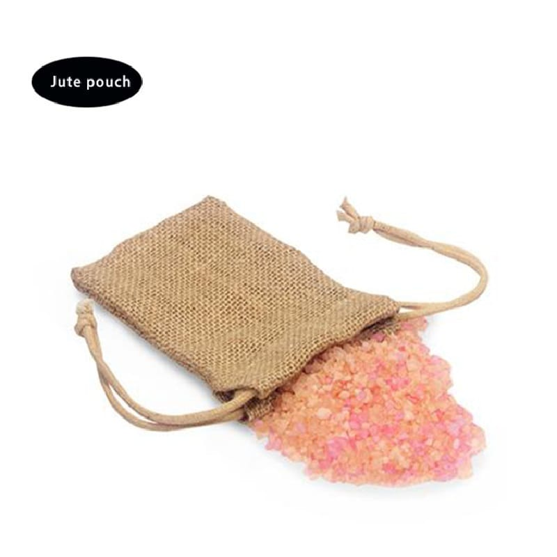 Top quality custom size with drawstrings jute bag